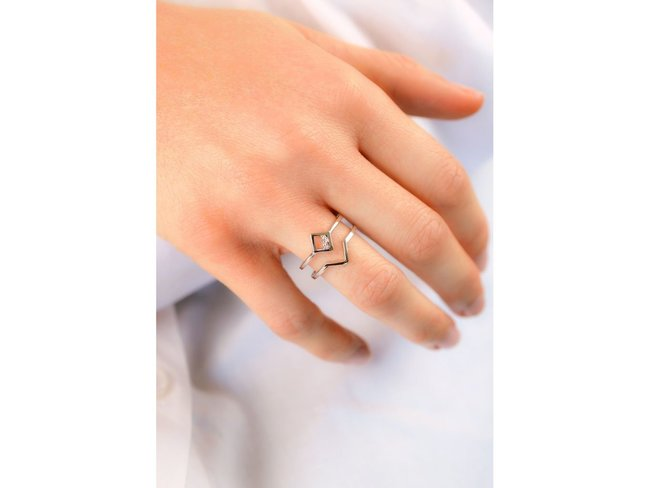 Diamanti Per Tutti   Bague   Argent   Diamants   M1722 AG