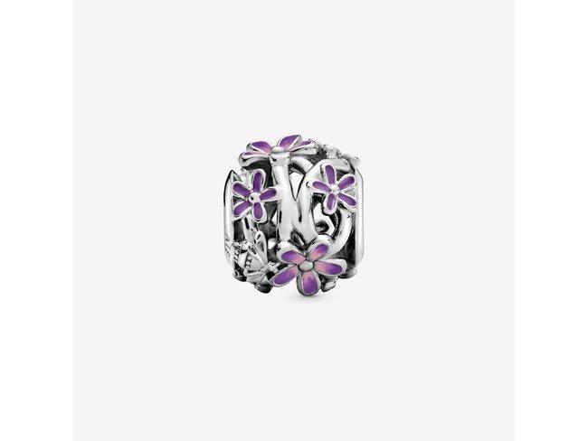 Pandora | Charm | Marguerite Violette Ajouré | 798772C02