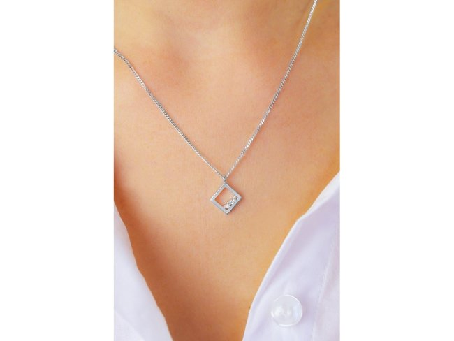 Diamanti Per Tutti | Collier | Argent | Diamants | M1712 AG