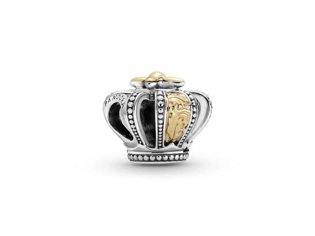 Pandora | Charm | Couronne Royale Bicolore | 799340C00