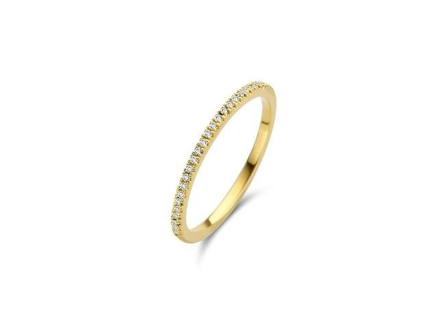 Diamanti Per Tutti | Bague | Plaqué Or | Diamants | M347 DO