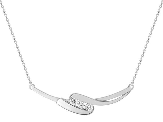 Loumya Silver | Collier | Argent | oxyde de Zirconium | RM332434.1