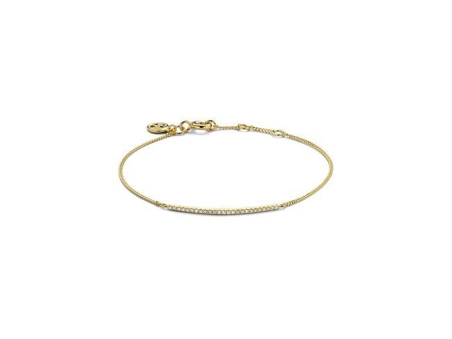 Diamanti Per Tutti | Bracelet | Plaqué Or | Diamants | M269 DO