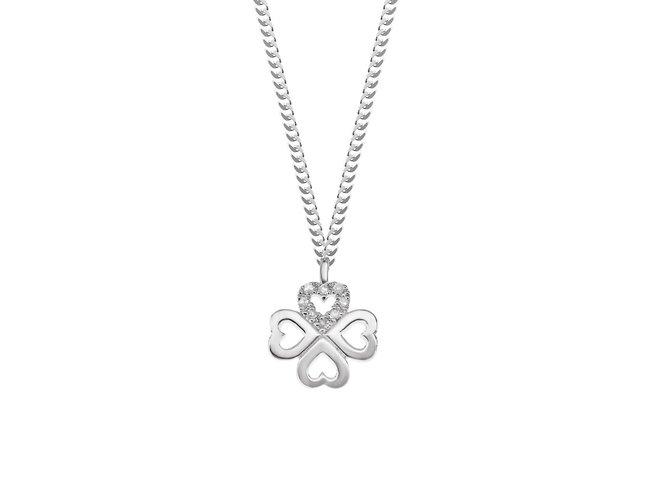Diamanti Per Tutti | Collier | Argent | Diamants | M855 AG