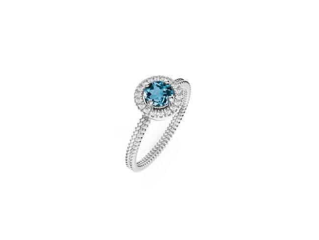Diamanti Per Tutti   Bague   Argent   Diamants   M1595 AG
