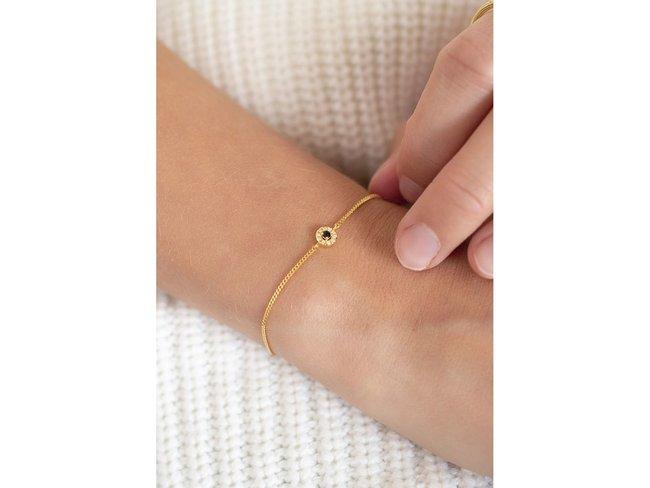 Diamanti Per Tutti | Bracelet | Plaqué Or | Diamants | M1850 DO