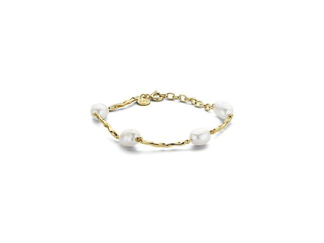 Diamanti Per Tutti | Bracelet | Plaqué Or | Perle | M1653 DO