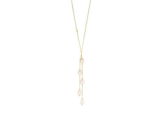 Diamanti Per Tutti | Collier | Plaqué Or | Perle | M1607 DO