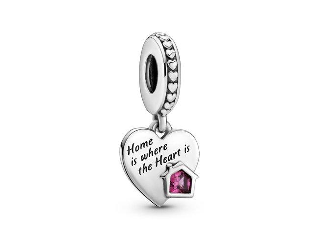 Pandora | Charm | Coeur Ma Maison Adorée | 799324C01