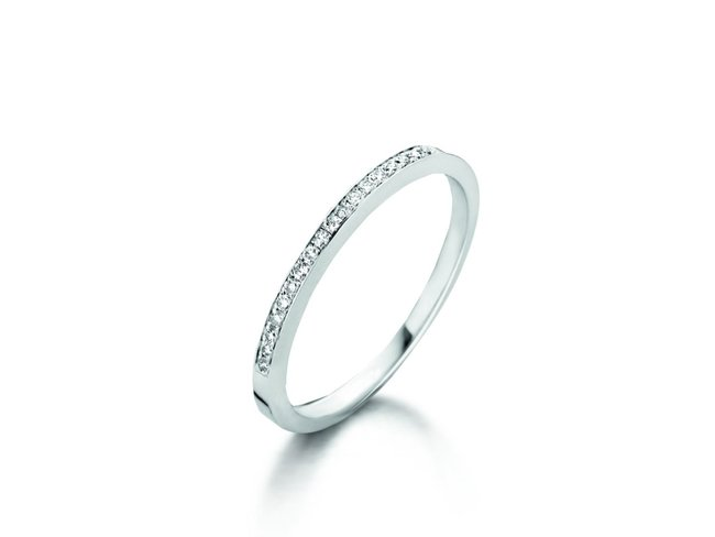 Loumya Gold | Bague | Or Blanc | Diamants | BE056051/A