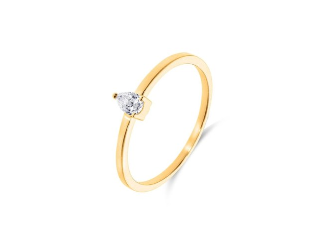 Loumya Gold | Bague | Or Jaune | Diamant | BE063817/A/9