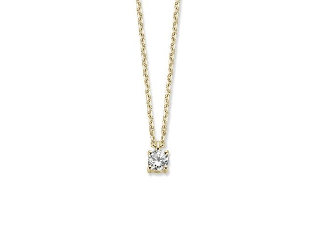 Loumya Gold | Collier | Or Jaune| Diamant | BE92A837/A