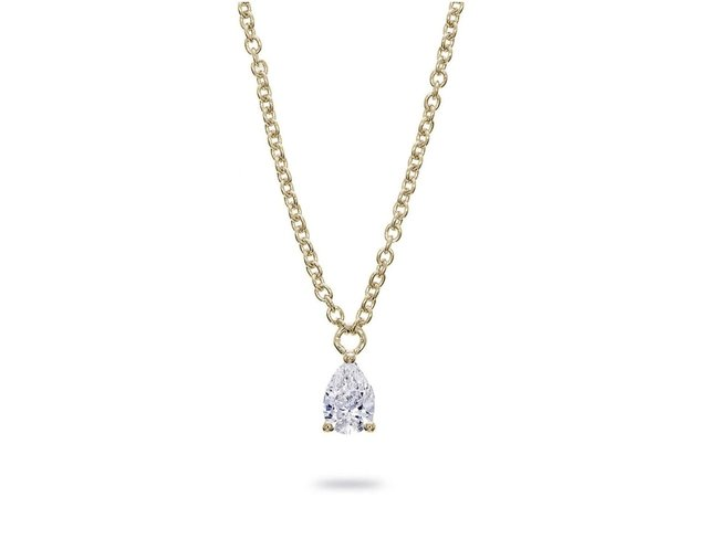 Loumya Gold | Collier | Or Jaune | Diamant | BE063874/A/8