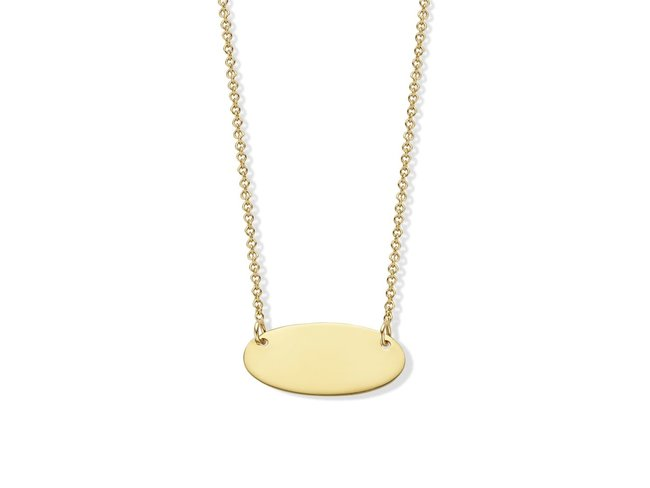 Loumya Gold | Collier | Or Jaune | Personnalisable | BE060387