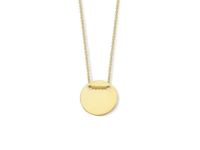 Loumya Gold | Collier | Or Jaune | Personnalisable | BE060361
