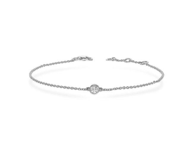 Loumya Gold | Bracelet | Or Blanc | Diamant | BE054534/A