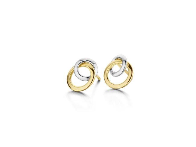 Loumya Gold | Boucles d'Oreilles | Or Bicolore | BE058273