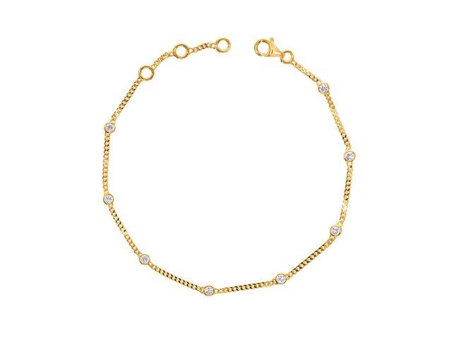 Loumya Gold | Bracelet | Or Jaune | Diamants | BE063814/A