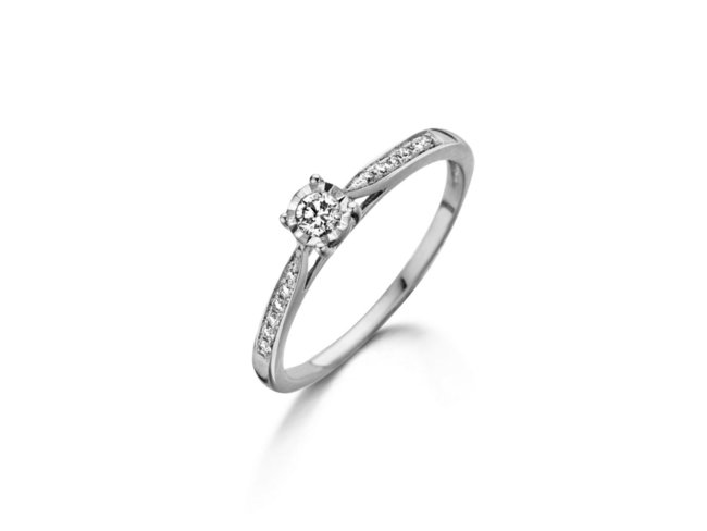 Loumya Gold | Bague | Or Blanc | Diamants | 056058/A