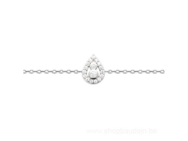 Bijoux CN Paris   Bracelet   Argent   Oxyde de Zirconium   87345118