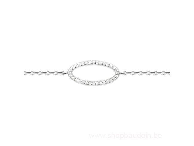 Bijoux CN Paris   Bracelet   Argent   Oxyde de Zirconium   87344818