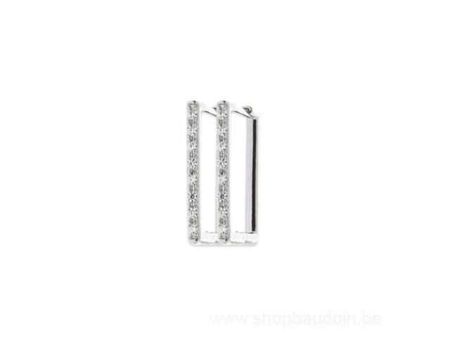 Bijoux CN Paris | Créoles | Argent | Oxyde de Zirconium | 1635910