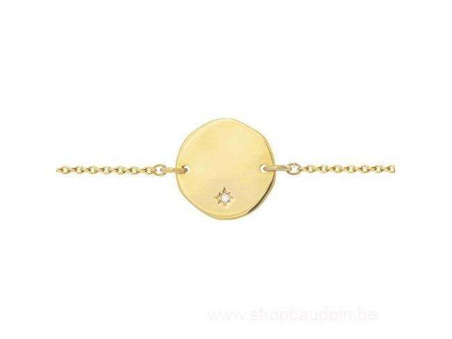 Saunier | Bracelet | Plaqué Or | Personnalisable |7037583 01