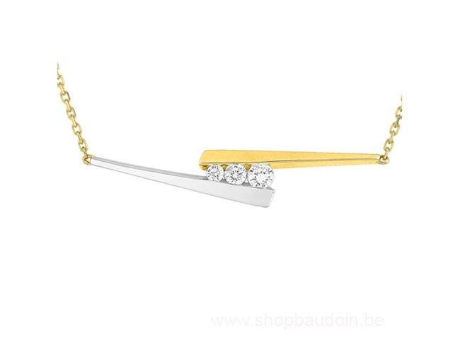 Loumya Gold | Collier | Or Bicolore | Diamants | MA542XB4