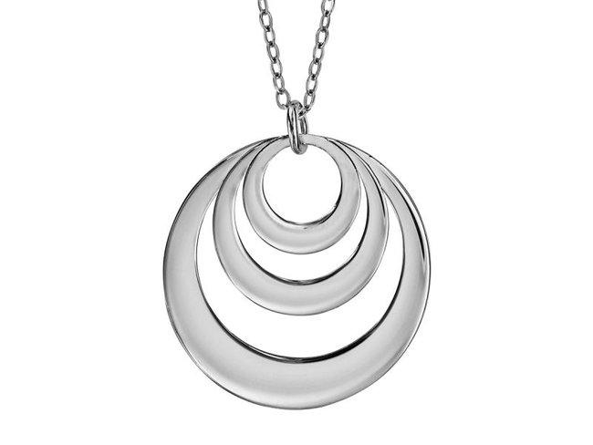 Loumya Silver | Collier | Argent | 3 Cercles | Personnalisable