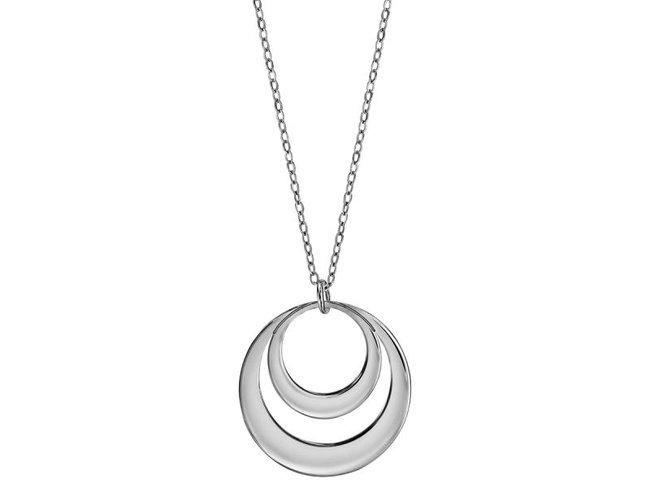 Loumya Silver | Collier | Argent | 2 Cercles | Personnalisable