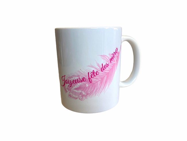 MUGS | Mugs | Joyeuses Fêtes Des Mères | plume | OTB510