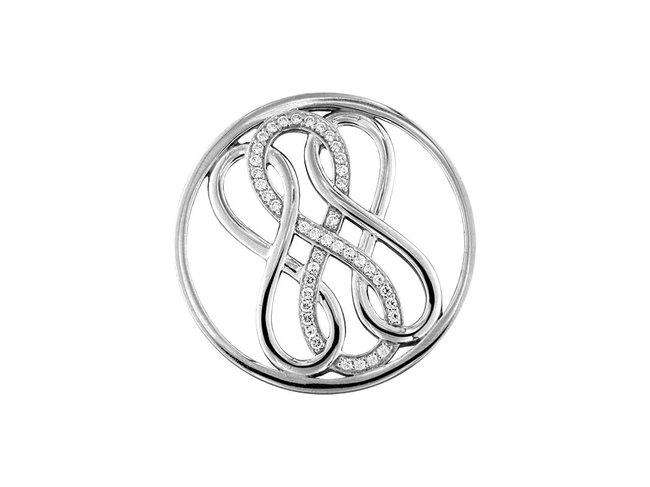 My Imenso | Insigne | Argent | 3 Infini | 33mm | 33-1365