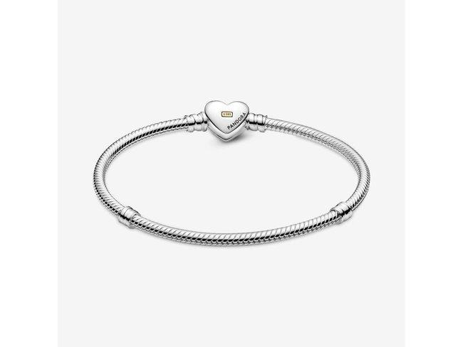 Pandora | Bracelet | Moments | Cœur Doré Bombé | 599380C00