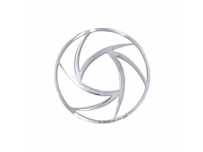 My Imenso | Insigne | Argent | 33mm | 33-1534