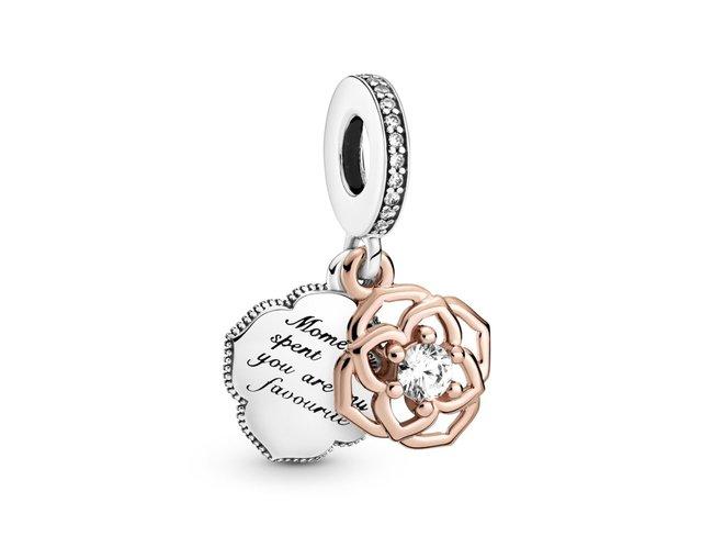 Pandora | Charm | Pendant Rose Bicolore | 789373C01