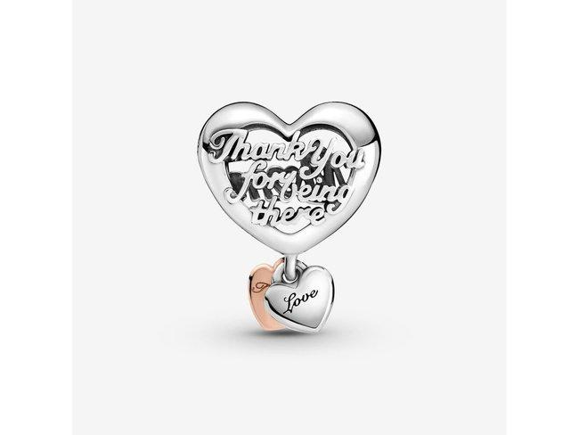 Pandora | Charm | Coeur Merci Maman | 789372C00