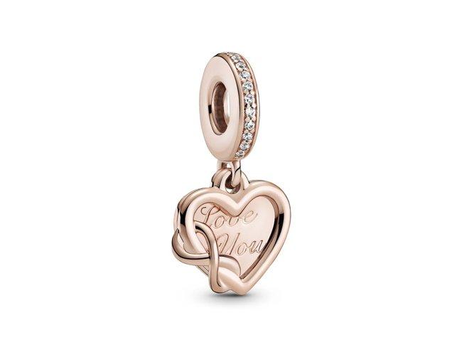 Pandora | Charm | Rosé | Love You | Coeur Infini | 789369C01