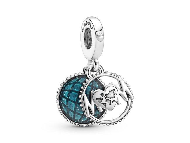 Pandora | Charm | Globe Étincelant Mum (Maman) | 799368C01