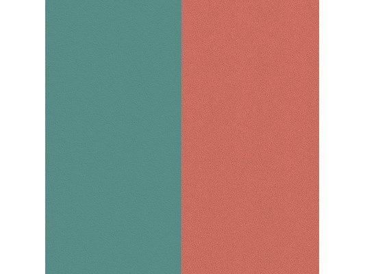 Les Georgettes | Cuir | Pendentif | Bleu / Argile Rose EJ
