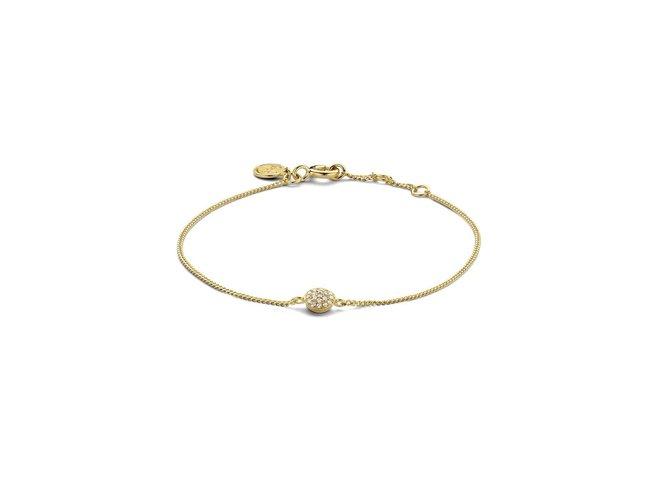 Diamanti Per Tutti | Bracelet | Plaqué Or | Diamants | M1038 DO