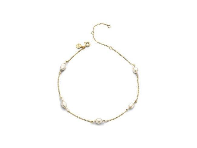 Diamanti Per Tutti | Collier | Plaqué Or | Perle |M1885 DO
