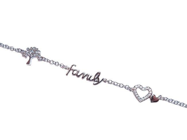 Loumya Silver | Bracelet | Argent | Oxyde de Zirconium | Family