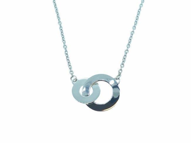 Loumya Silver | Collier | Argent | Personnalisable | Cercles