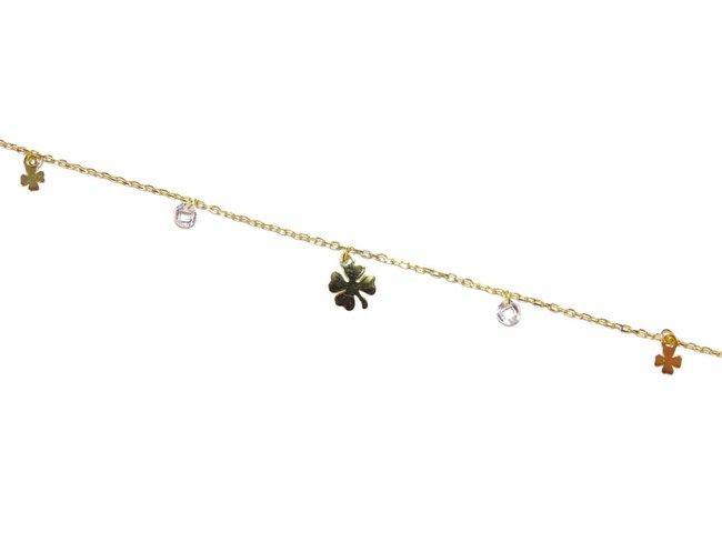 Loumya Silver | Bracelet | Plaqué Or | Treffle