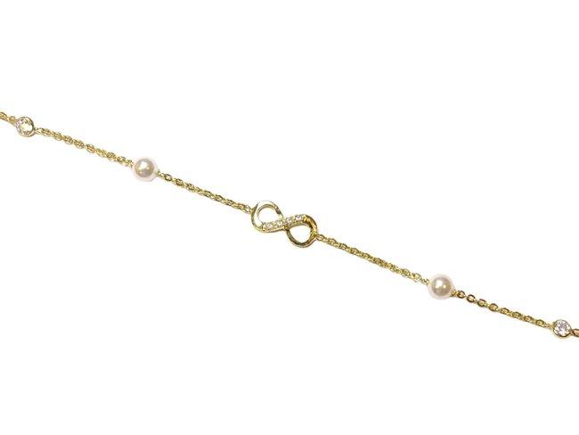Loumya Silver | Bracelet | Plaqué Or | Oxyde de Zirconium | Infini
