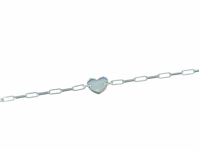 Loumya Silver | Bracelet | Argent | Personnalisable | Coeur