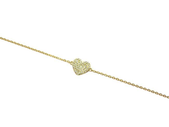 Loumya Silver | Bracelet | Plaqué Or | Coeur