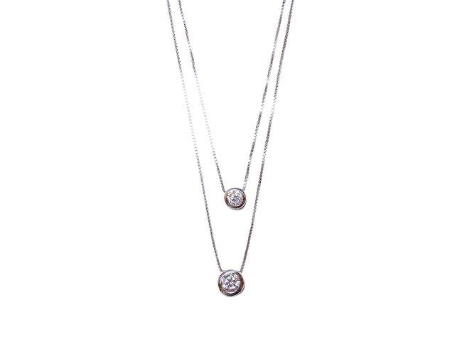 Loumya Silver | Collier Double | Argent | Oxyde de Zirconium