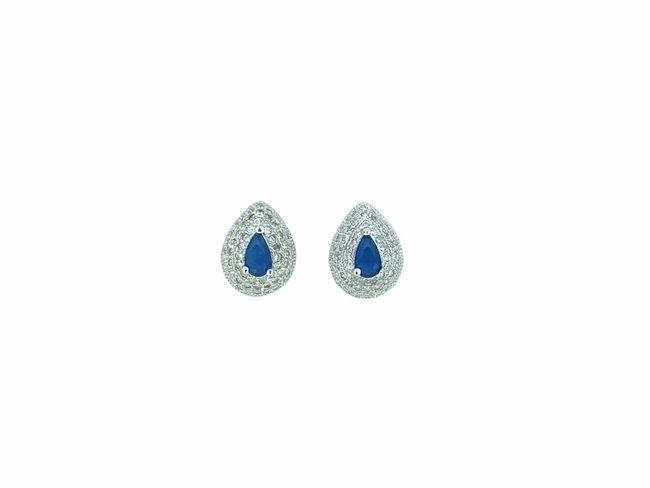 Loumya Silver | Boucles d'Oreilles | Argent | Oxyde de Zirconium