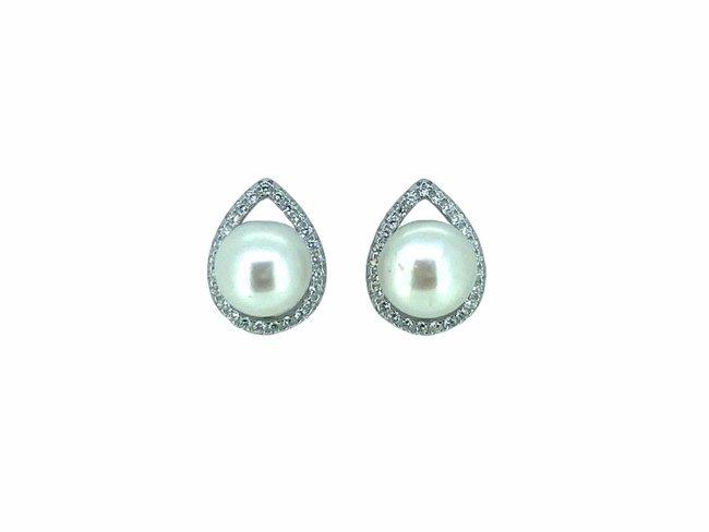 Loumya Silver | Boucles d'Oreilles | Argent | Perle de Culture